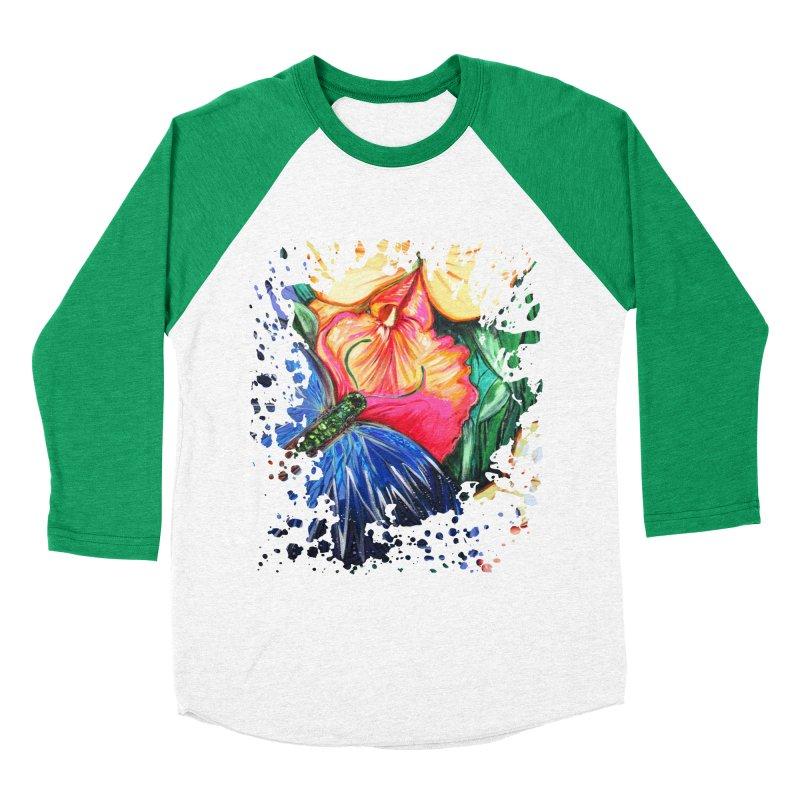 Butterfly Life Men's Baseball Triblend T-Shirt by adamzworld's Artist Shop