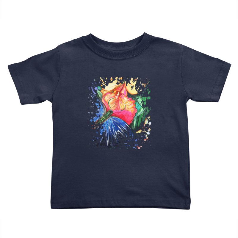 Butterfly Life Kids Toddler T-Shirt by adamzworld's Artist Shop