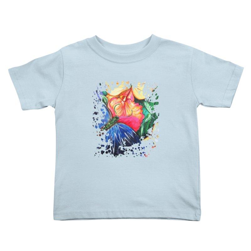 Butterfly Life Kids Toddler T-Shirt by adamzworld's Artist Shop
