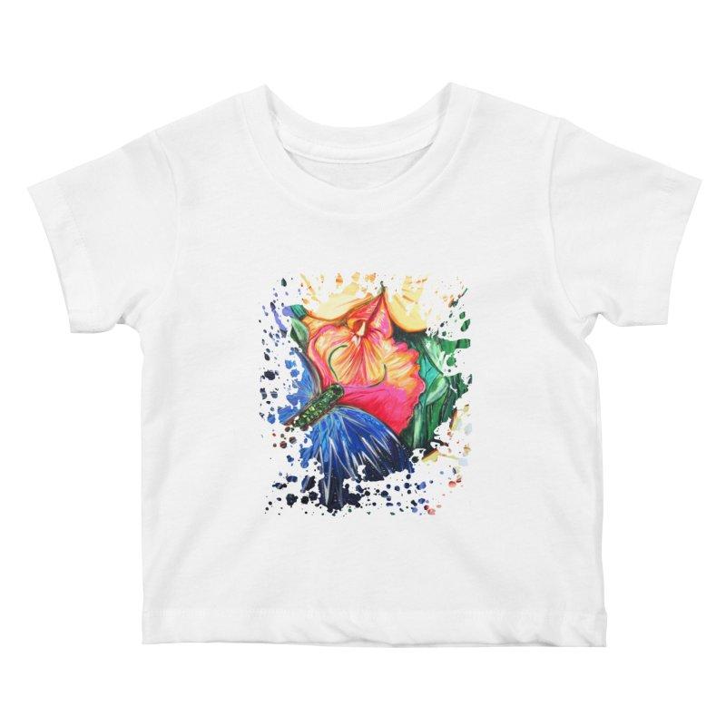 Butterfly Life Kids Baby T-Shirt by adamzworld's Artist Shop
