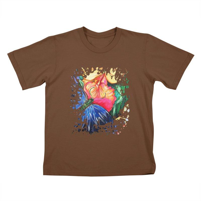 Butterfly Life Kids T-shirt by adamzworld's Artist Shop