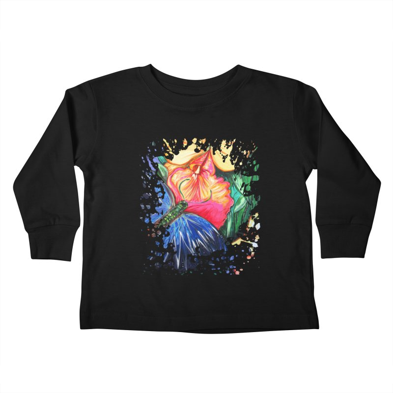 Butterfly Life Kids Toddler Longsleeve T-Shirt by adamzworld's Artist Shop