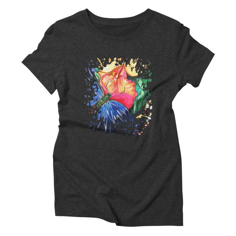 Butterfly Life Women's Triblend T-shirt by adamzworld's Artist Shop