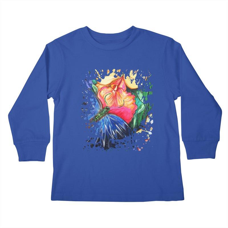 Butterfly Life Kids Longsleeve T-Shirt by adamzworld's Artist Shop