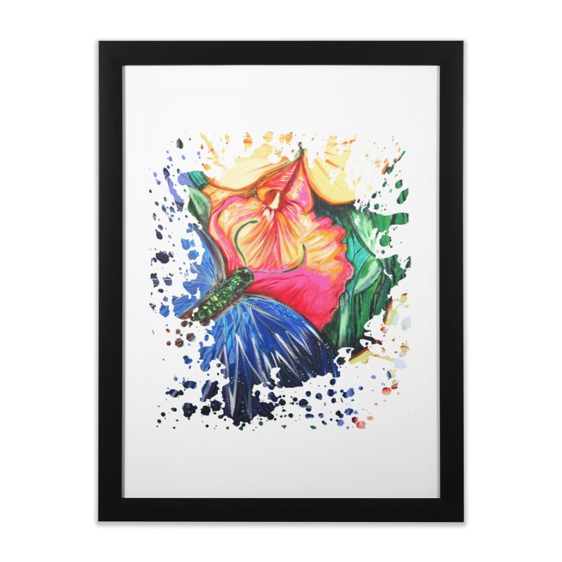 Butterfly Life Home Framed Fine Art Print by adamzworld's Artist Shop