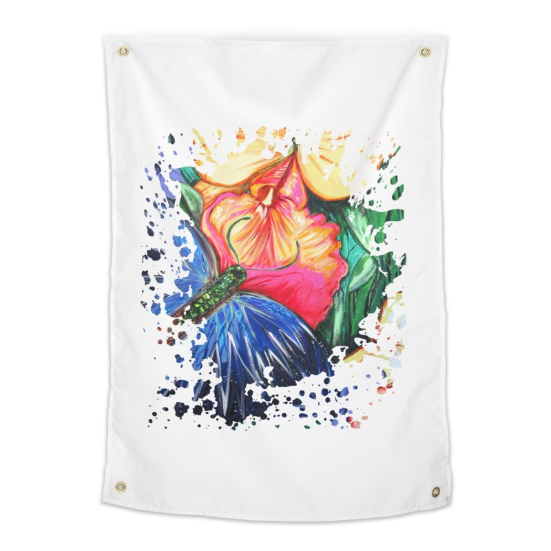 Butterfly Life Home Tapestry by adamzworld's Artist Shop
