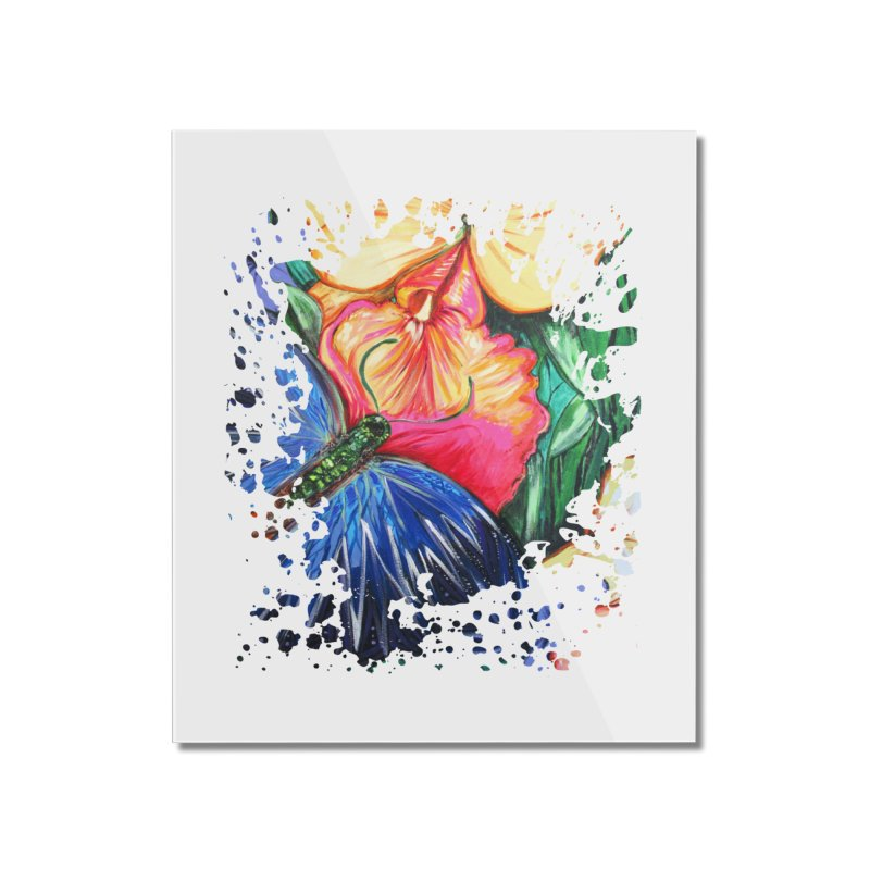 Butterfly Life Home Mounted Acrylic Print by adamzworld's Artist Shop