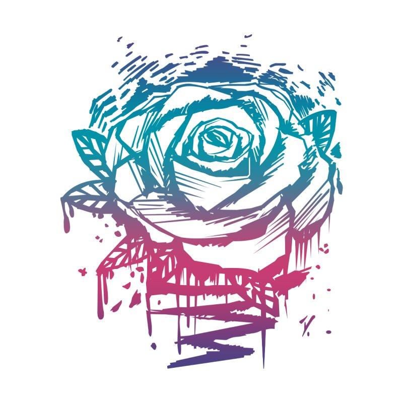 Candy Color Rose Women's V-Neck by adamzworld's Artist Shop