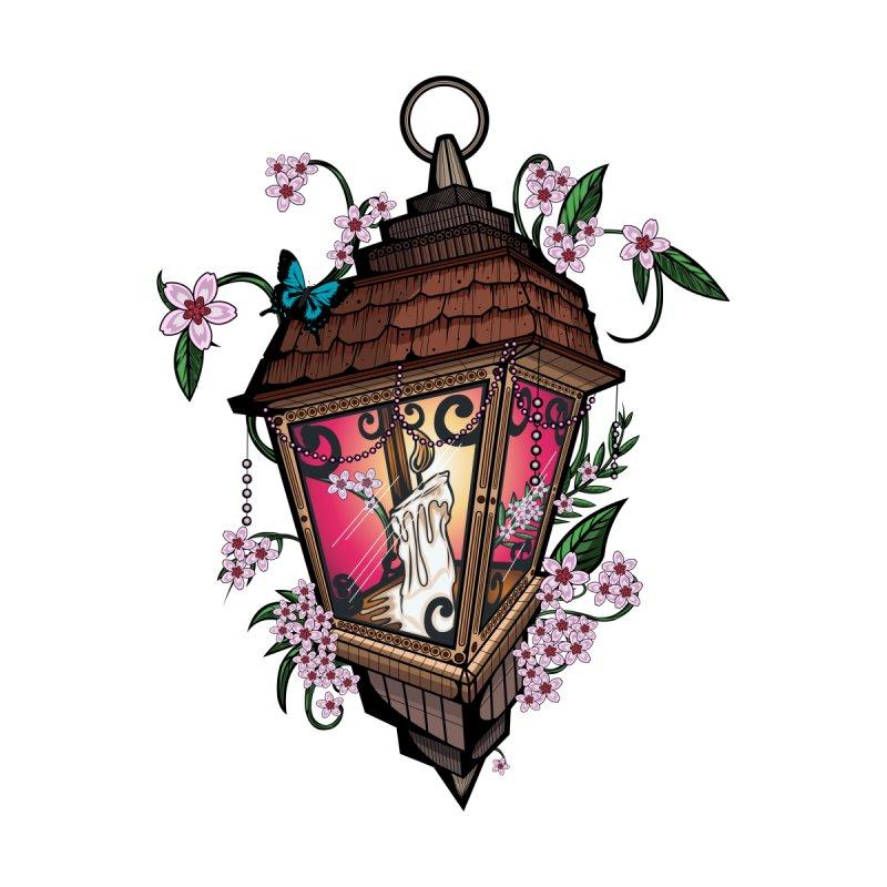 Beautiful Lantern Men's Zip-Up Hoody by adamzworld's Artist Shop