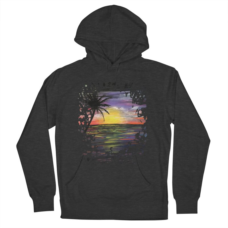 Sunset Sea Men's Pullover Hoody by adamzworld's Artist Shop