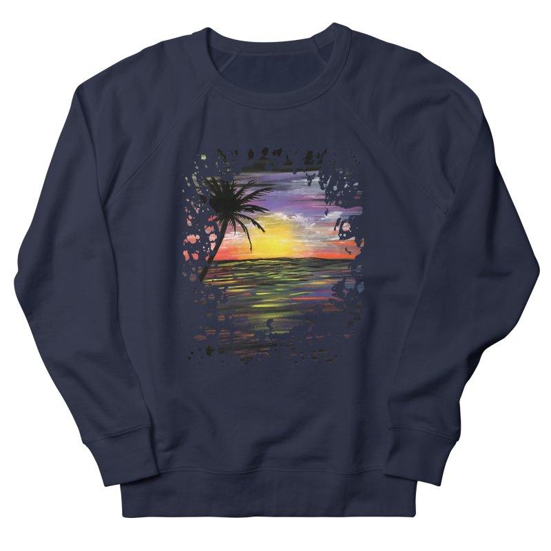Sunset Sea Women's Sweatshirt by adamzworld's Artist Shop