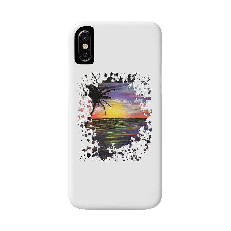 Sunset Sea Accessories Phone Case by adamzworld's Artist Shop