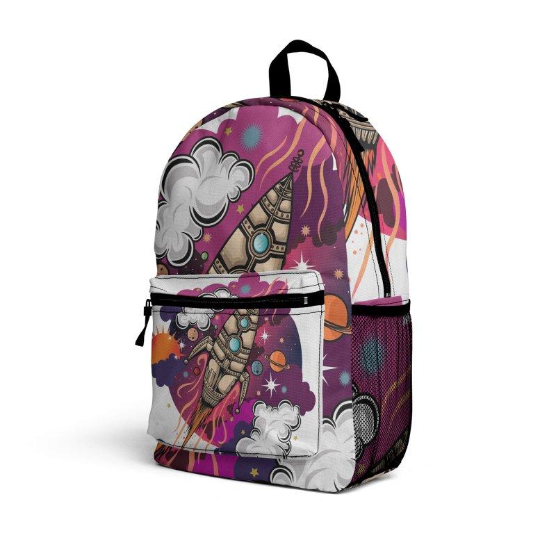 Through The Galaxy Accessories Bag by adamzworld's Artist Shop