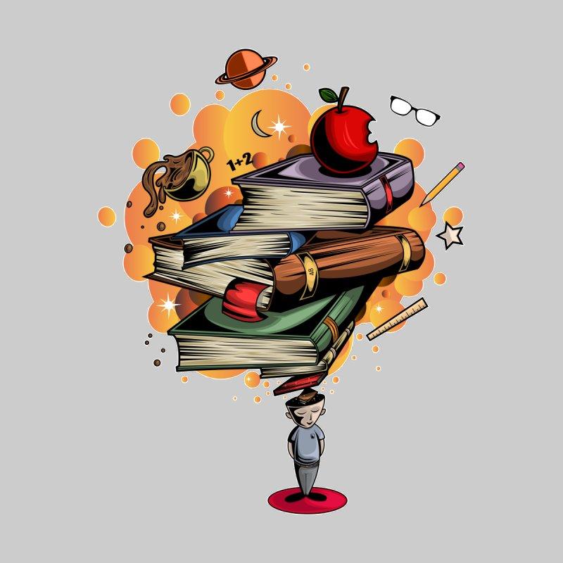 Book Smart Men's T-Shirt by adamzworld's Artist Shop