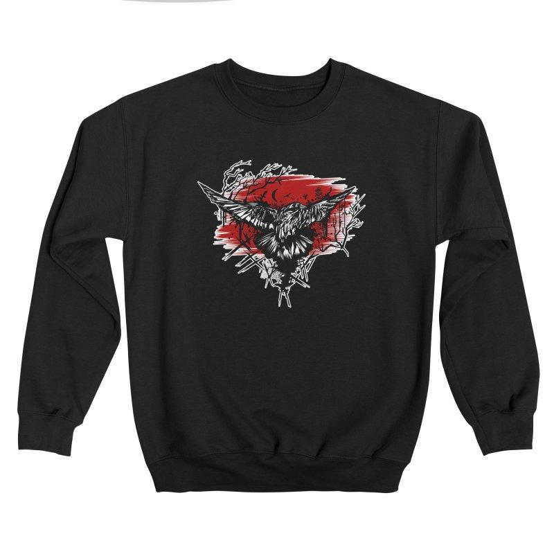 Crows Night Women's Sweatshirt by adamzworld's Artist Shop