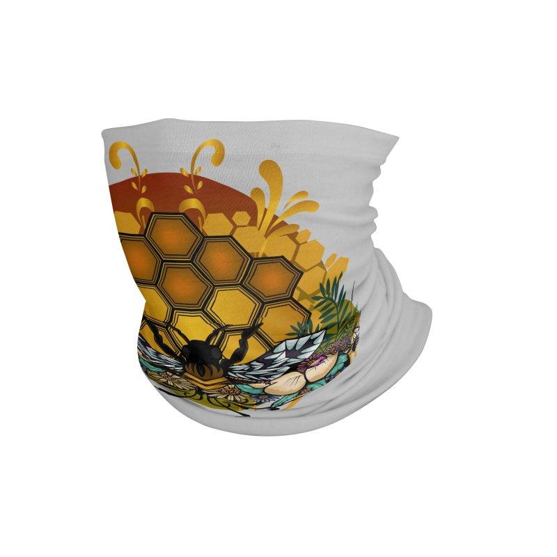 Queen Of Bees Accessories Neck Gaiter by adamzworld's Artist Shop