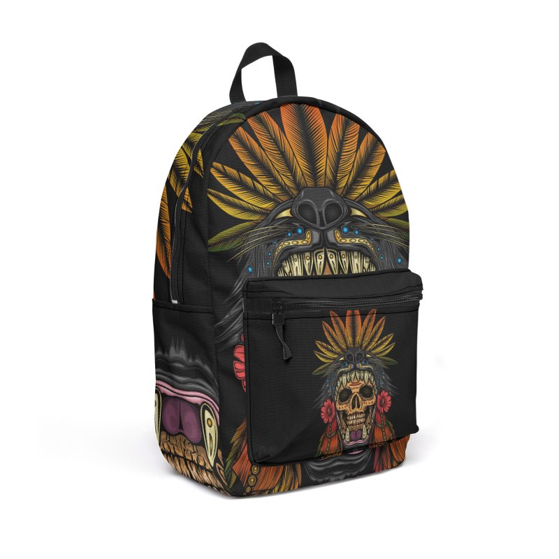 Aztec Warrior Accessories Bag by adamzworld's Artist Shop