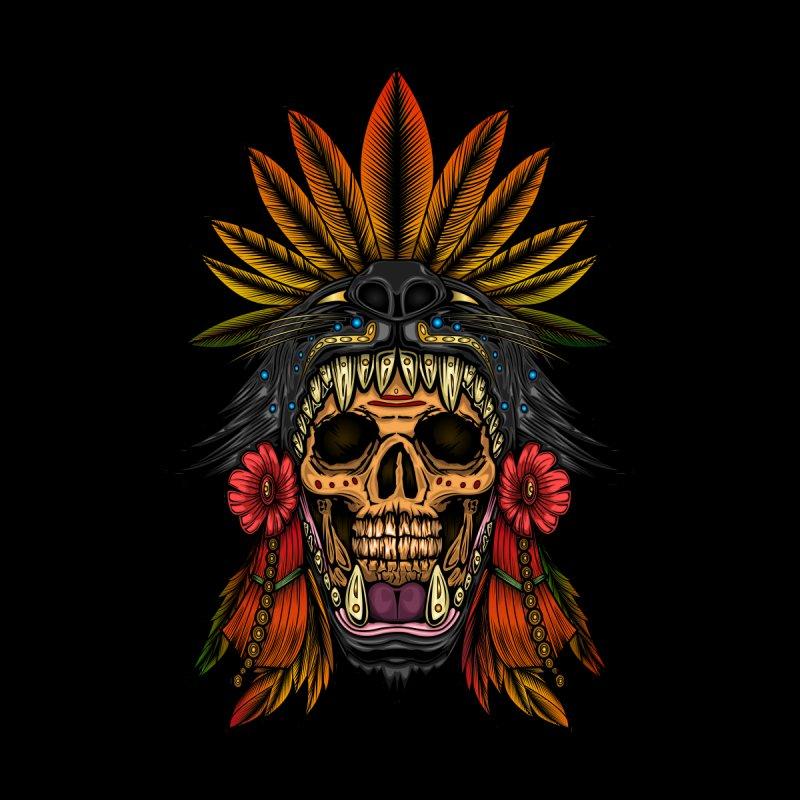 Aztec Warrior Men's T-Shirt by adamzworld's Artist Shop