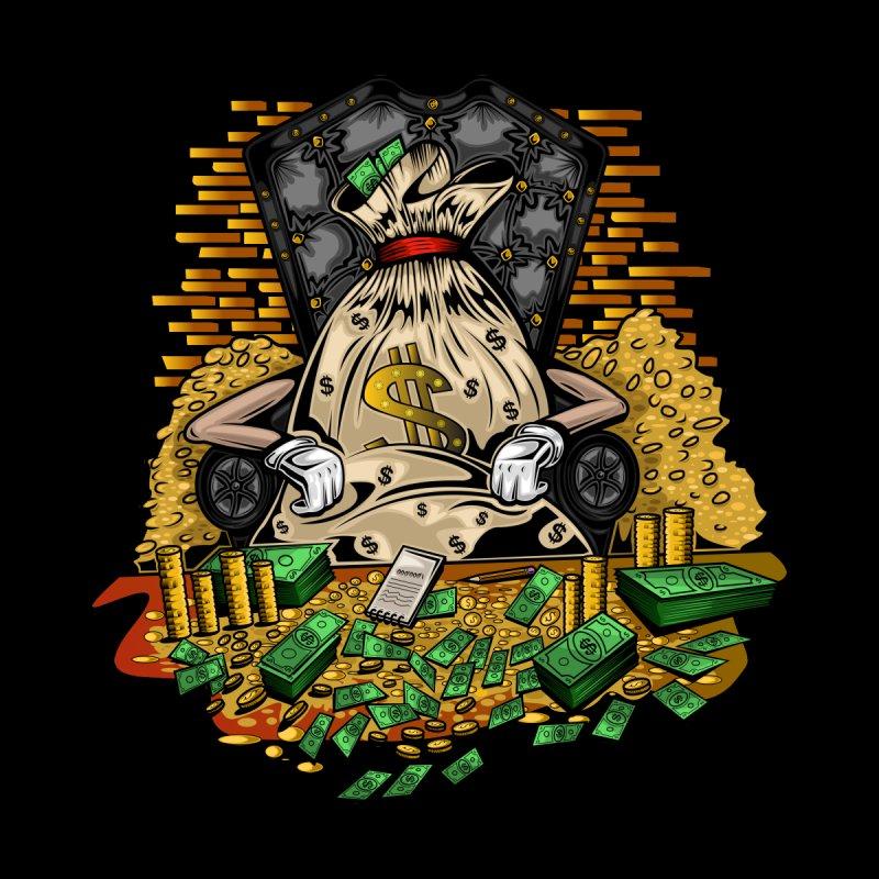 Money Bag Men's Pullover Hoody by adamzworld's Artist Shop