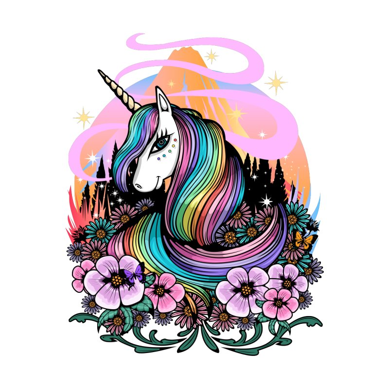 Majestic Unicorn Men's T-Shirt by adamzworld's Artist Shop