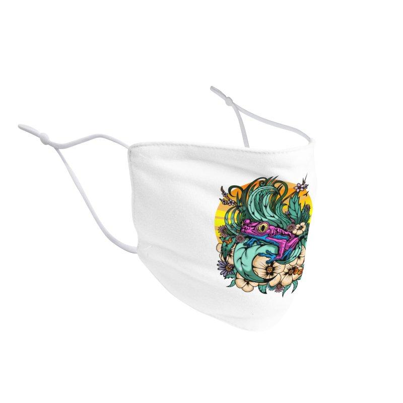 Summer Tree Frog Accessories Face Mask by adamzworld's Artist Shop