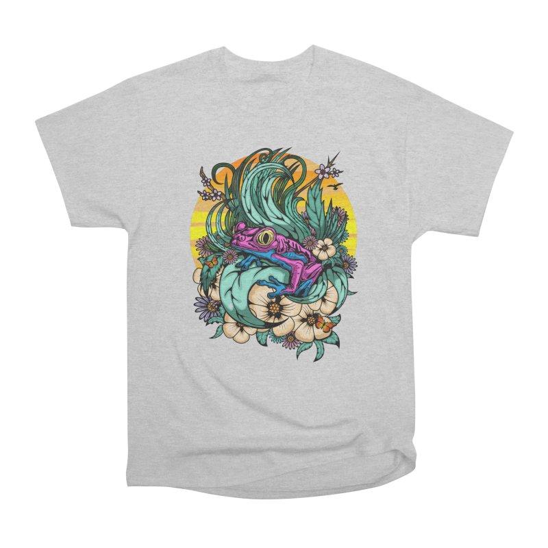 Summer Tree Frog Men's T-Shirt by adamzworld's Artist Shop