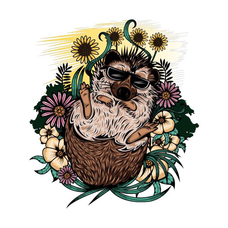 Cool Hedgehog Men's Pullover Hoody by adamzworld's Artist Shop