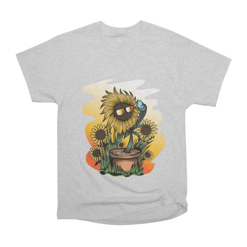 Too Cool Sunflower Men's T-Shirt by adamzworld's Artist Shop