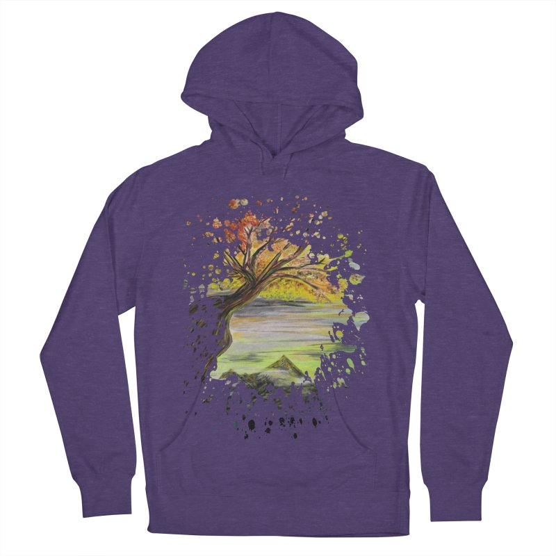 Over Looking Tree Women's Pullover Hoody by adamzworld's Artist Shop