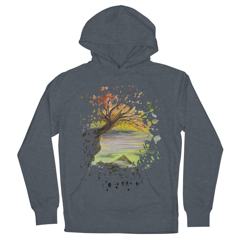 Over Looking Tree Men's Pullover Hoody by adamzworld's Artist Shop