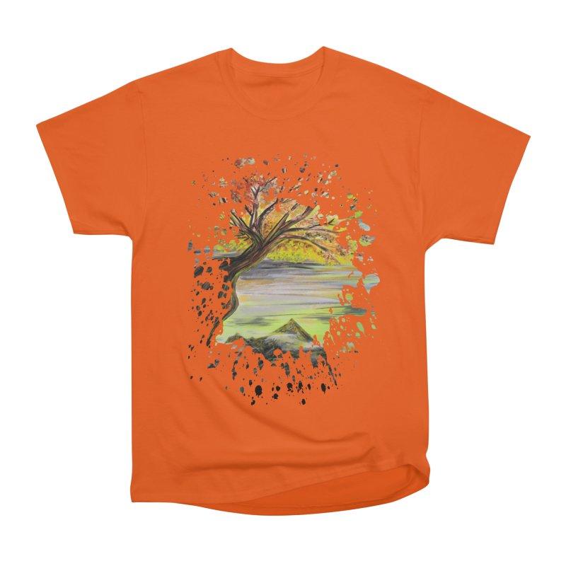 Over Looking Tree Men's Classic T-Shirt by adamzworld's Artist Shop