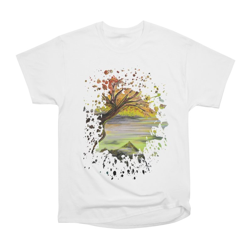 Over Looking Tree Women's Classic Unisex T-Shirt by adamzworld's Artist Shop