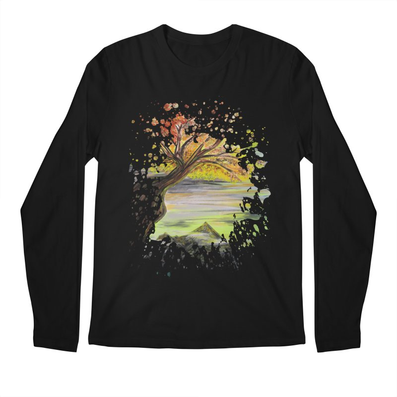 Over Looking Tree Men's Longsleeve T-Shirt by adamzworld's Artist Shop
