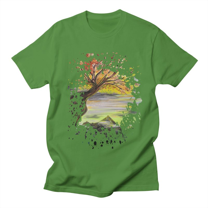 Over Looking Tree Men's T-shirt by adamzworld's Artist Shop