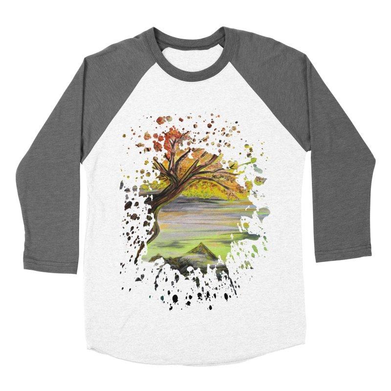 Over Looking Tree Women's Baseball Triblend T-Shirt by adamzworld's Artist Shop