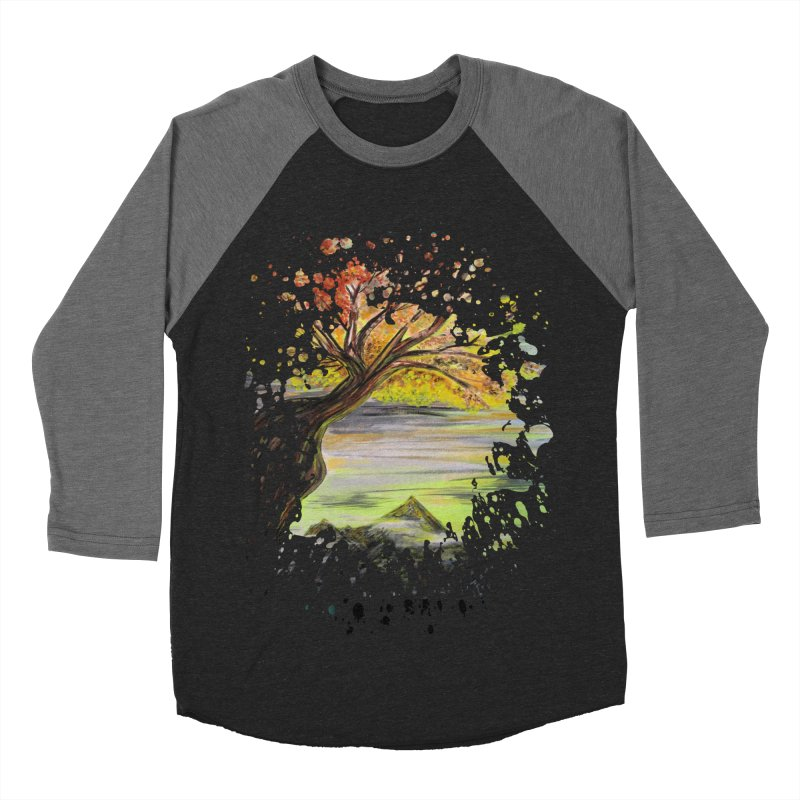 Over Looking Tree Men's Baseball Triblend T-Shirt by adamzworld's Artist Shop