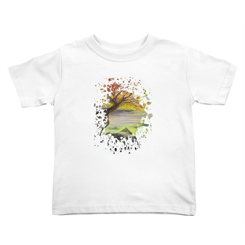 Over Looking Tree Kids Toddler T-Shirt by adamzworld's Artist Shop