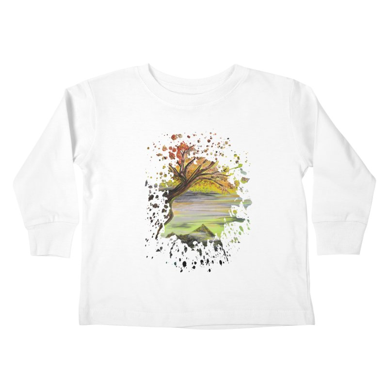 Over Looking Tree Kids Toddler Longsleeve T-Shirt by adamzworld's Artist Shop