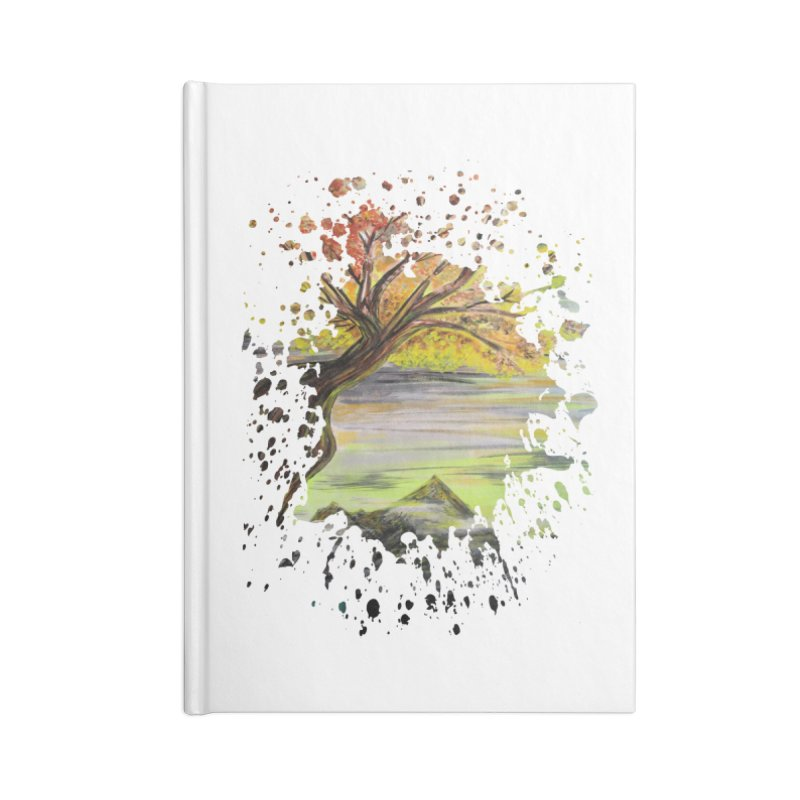 Over Looking Tree Accessories Notebook by adamzworld's Artist Shop
