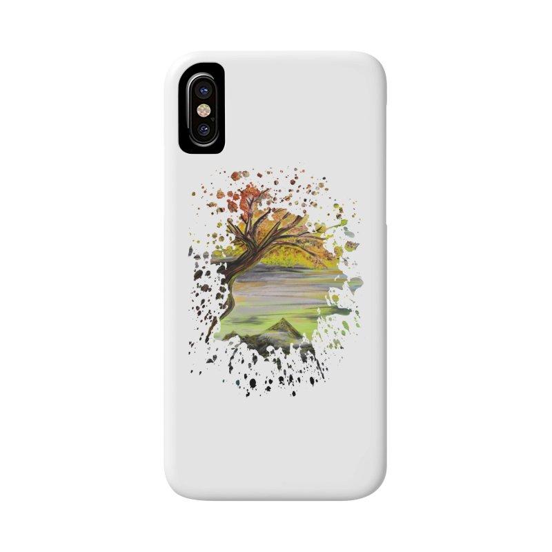 Over Looking Tree Accessories Phone Case by adamzworld's Artist Shop