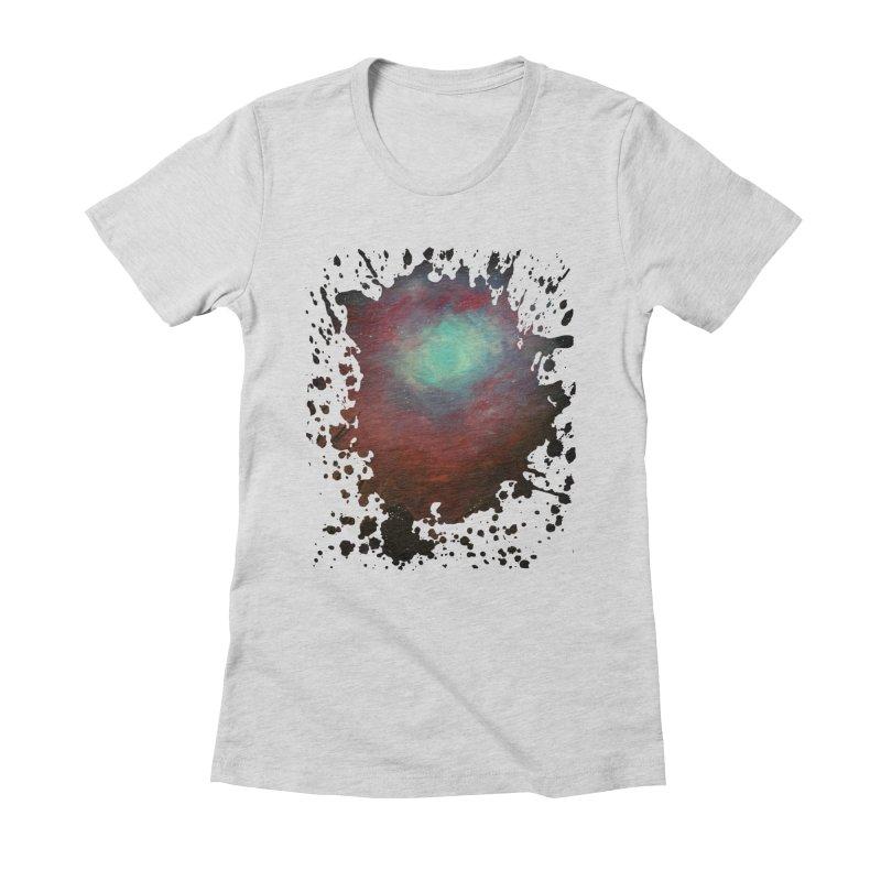 Spacious Sky Women's Fitted T-Shirt by adamzworld's Artist Shop