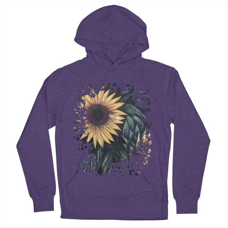 Sunflower Life Women's Pullover Hoody by adamzworld's Artist Shop