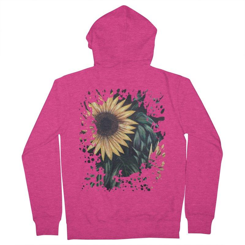 Sunflower Life Women's Zip-Up Hoody by adamzworld's Artist Shop