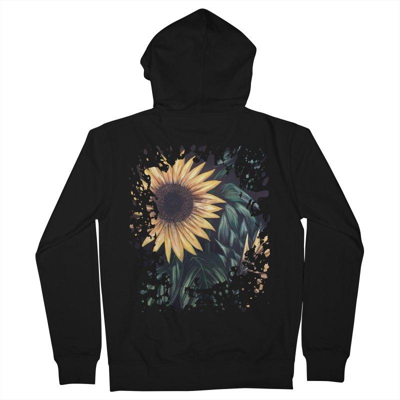 Sunflower Life Men's Zip-Up Hoody by adamzworld's Artist Shop