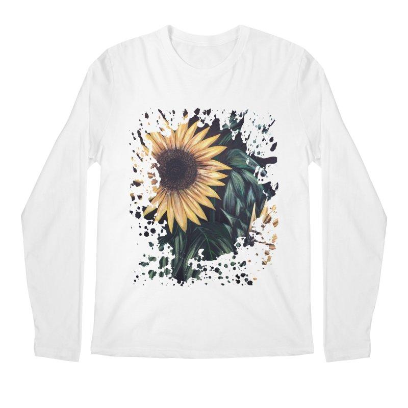 Sunflower Life Men's Longsleeve T-Shirt by adamzworld's Artist Shop