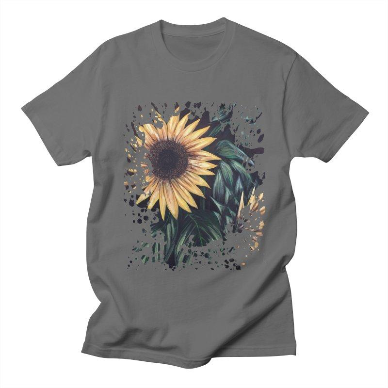 Sunflower Life Women's Unisex T-Shirt by adamzworld's Artist Shop