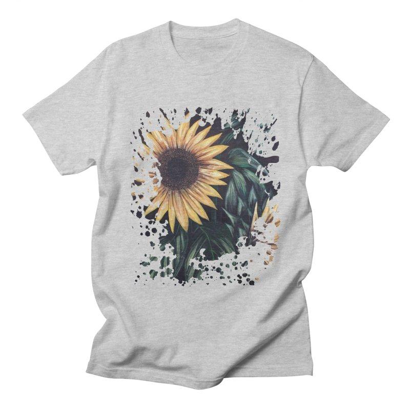 Sunflower Life Men's T-shirt by adamzworld's Artist Shop