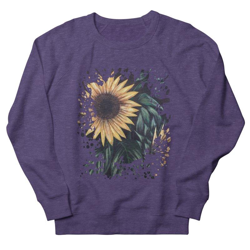 Sunflower Life Women's Sweatshirt by adamzworld's Artist Shop