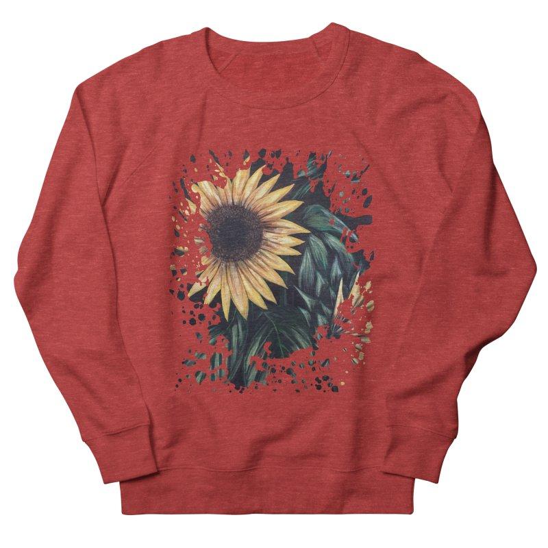 Sunflower Life Men's Sweatshirt by adamzworld's Artist Shop