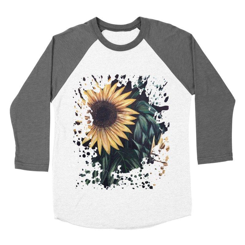 Sunflower Life Men's Baseball Triblend T-Shirt by adamzworld's Artist Shop